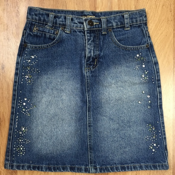 Star Ride Other - Star Ride Girls Jean Skirt Size 8 (24Wx16L)